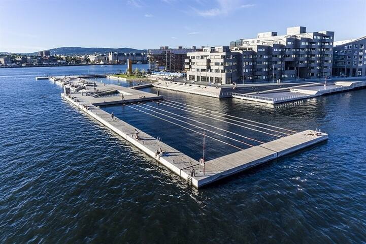 Seaside 3-room 70sqm Apartm. Close to Central St. - Oslo - Apartemen