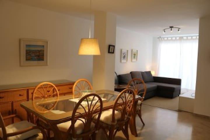 Apartment in Moraira towncenter.