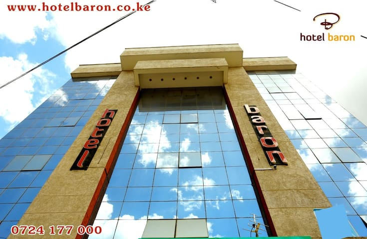 """Hotel Baron    """"Home at the Heart of Eldoret"""""""