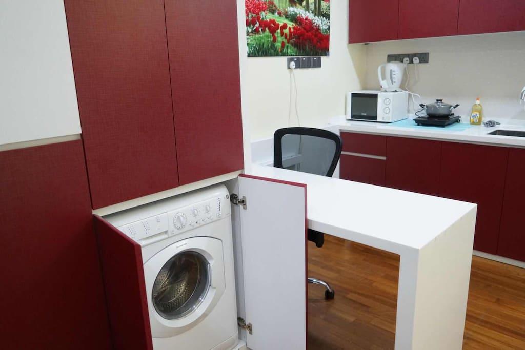 in room washing machine
