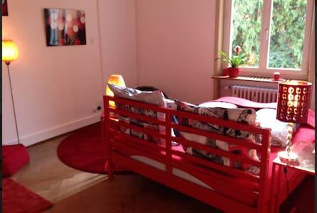Red Room, Art&B, Basel-City, Uni - Bed & Breakfast