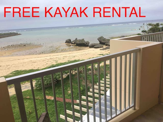 We have kayaks, snorkels, bodyboards, masks, life vests, paddles and a boat good for two persons. All free to use for our guests.