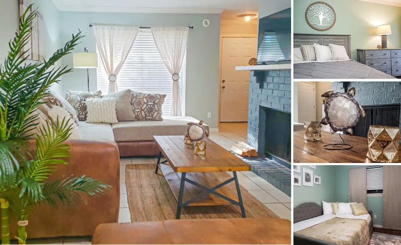 LOVELY LOVE FIELD AIRPORT TOWNHOME 2 BED | 3 BATH