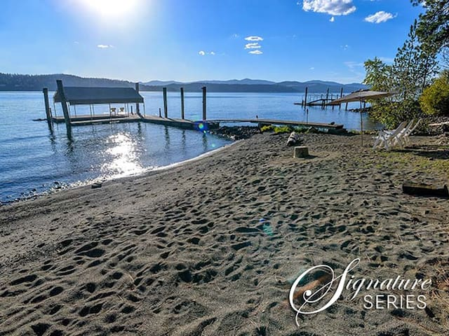 Kokanee Bay Beach House | With Private Beach