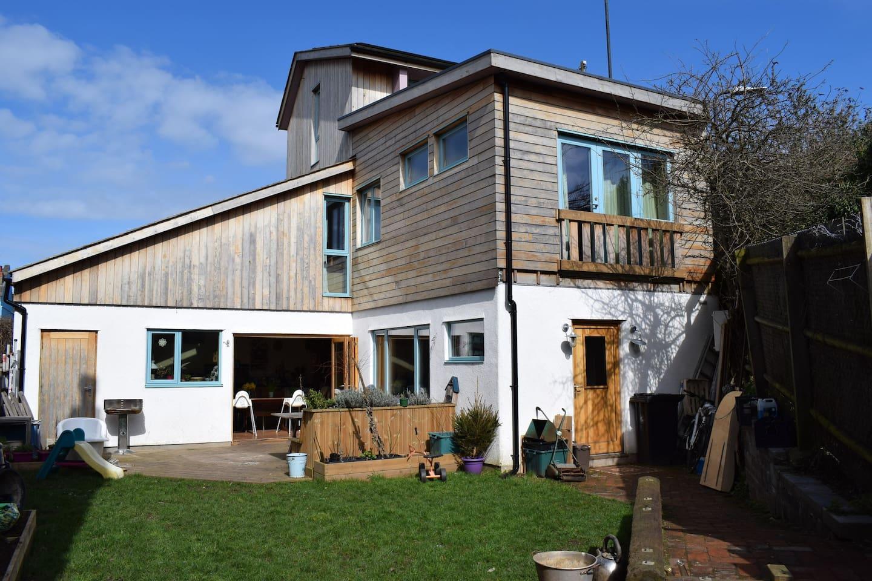 Our self-built eco home