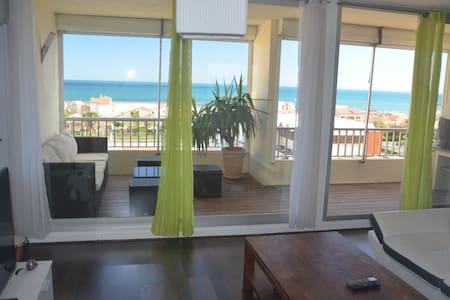 Bel appartement pleine vue mer