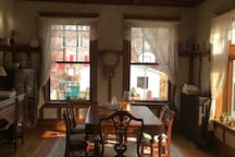 Dining Room --our dog JR is now gone :(