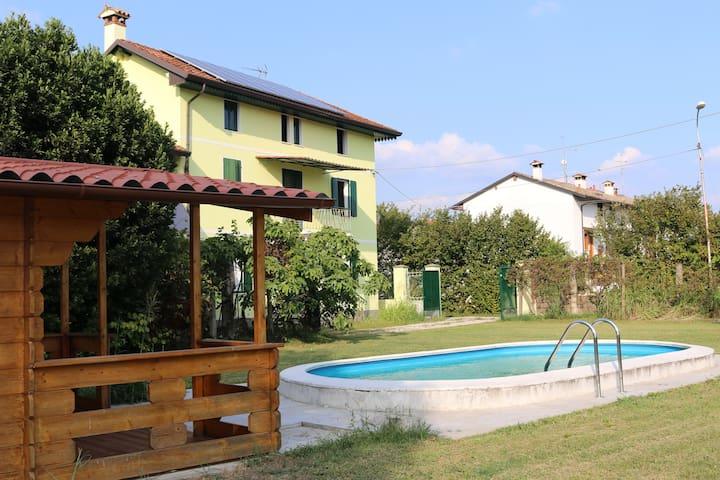 Villa di campagna nel verde e nel relax - 1° Piano