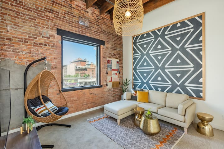 Downtown Spokane Loft- Aerie No 2- Unit 16