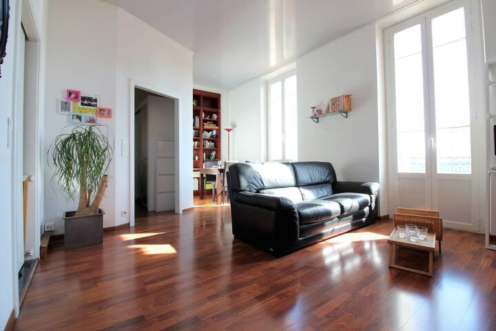 MONACO-Nice 3 bedrooms apartment/Seaview-Parking