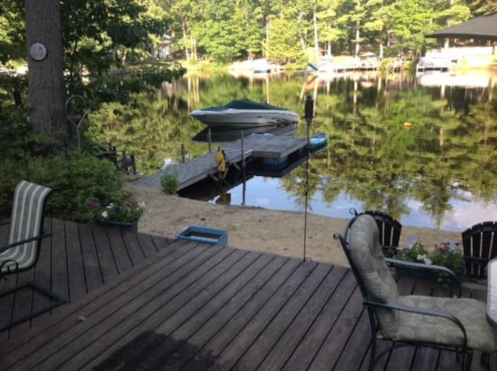 Lake Front Home on Lake Monomonac