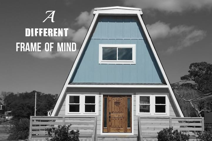 A Different Frame of Mind - OBX A-Frame For Rent