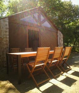 chalet bois rustique 6 couchages - House