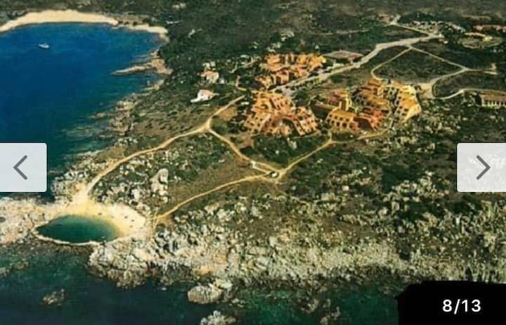 Tramonto bellissimi che affacciano sulla Corsica