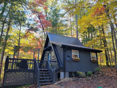 Cottage in the Sky - A-frame/ lake /GSMNP