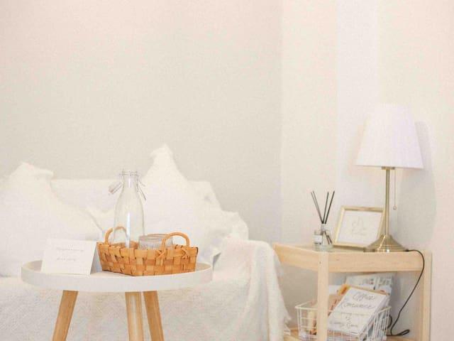 白茶小屋|Room 2 日式小清新榻榻米大床房