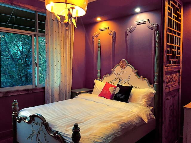 南岳衡山 南山南主题客栈(主题大床房) - Hengyang - House