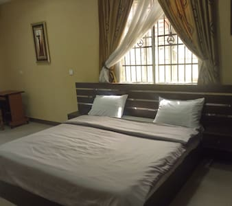 Lush Master bedroom in 2 bed and bath apartment