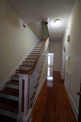 Stairs to 2nd Fl - 20 steps