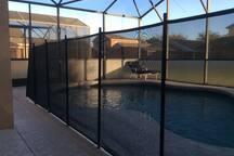 Pool Guard Fence - Villa Yuya
