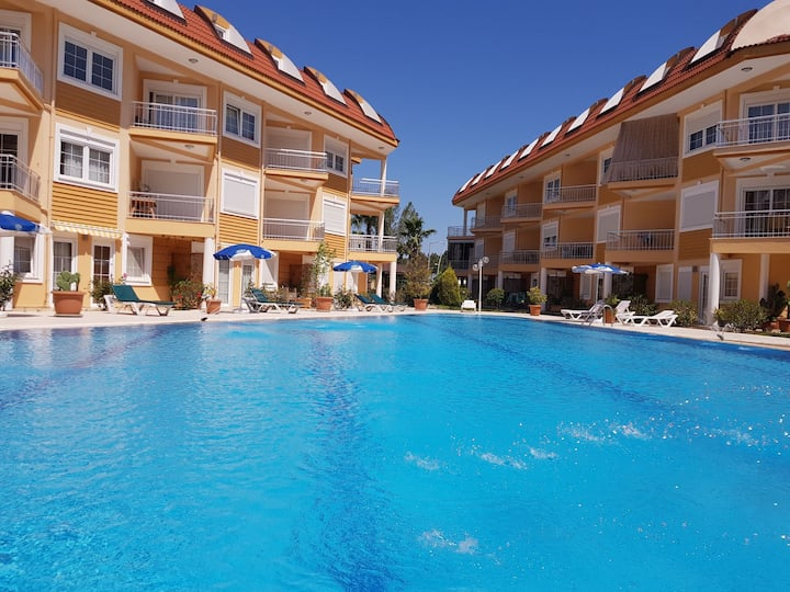 New apart with pool and wi-fi in 600m from sea D5.