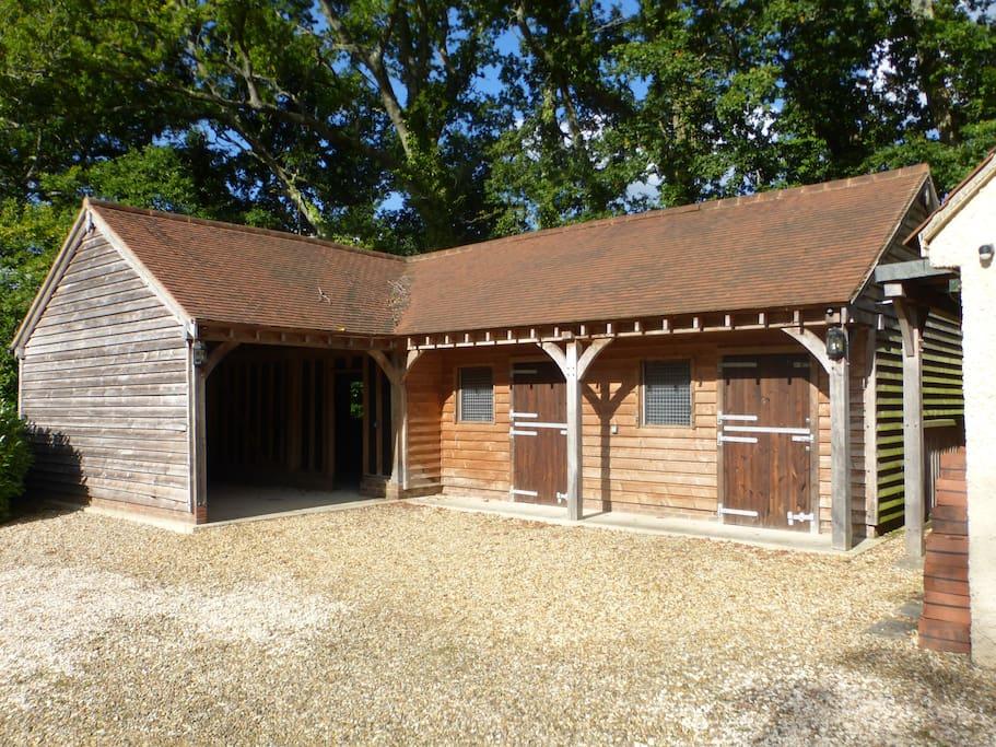modern stables