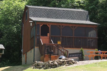 Valley View Cabin bordering Salt Fork State Park