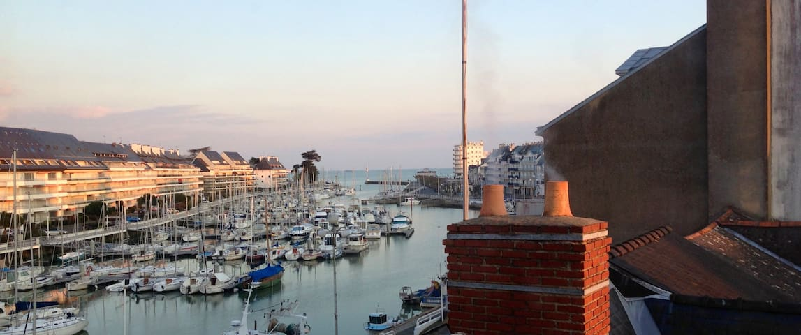 Exceptionnel duplex vue port - Le Pouliguen - Byt