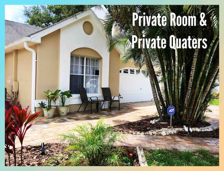Private Quarters | Private Entrance near Sanibel