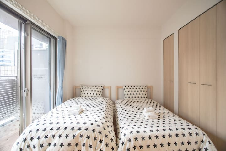 Good Location!NAMBA/Dotonbori/Nippombashi/FreeWifi - Chuo Ward, Osaka - Apartmen