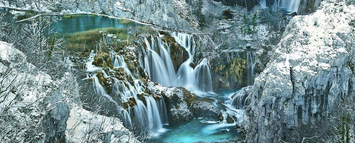 Private Double Room Near Plitvice Lakes 4 - Vrhovine - Casa