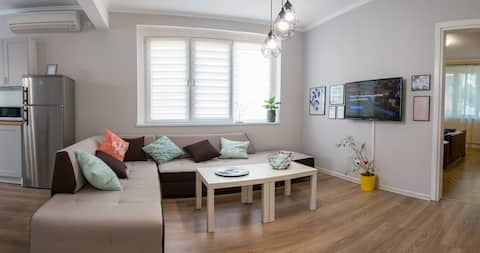 Bright and Cozy 2BD. Flat in Plovdiv's City Centre