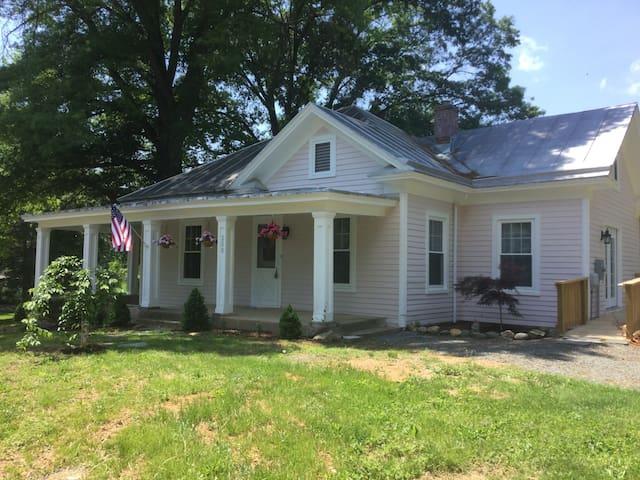 Just listed Villa Rosa-charming restored cottage