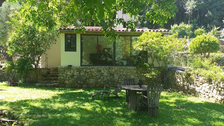 Maison avec jardin et vue; Le Pont du Loup 06