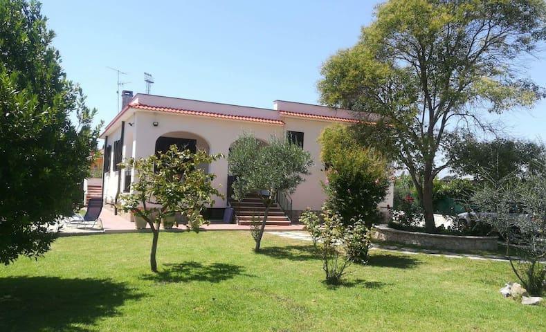 beautiful villa with large garden