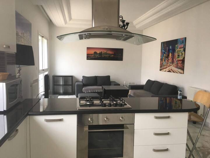 Appartement luxueusement Meublé 80m2