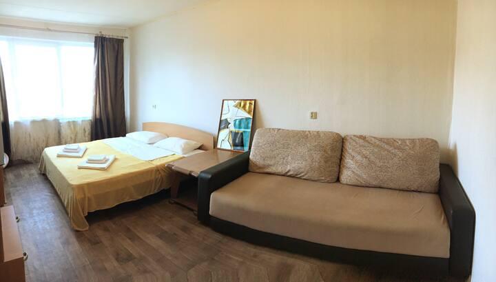 1-комнатная квартира у метро проспект просвещения