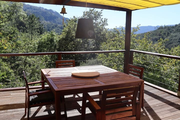 Gerês Cottage with Private Beach