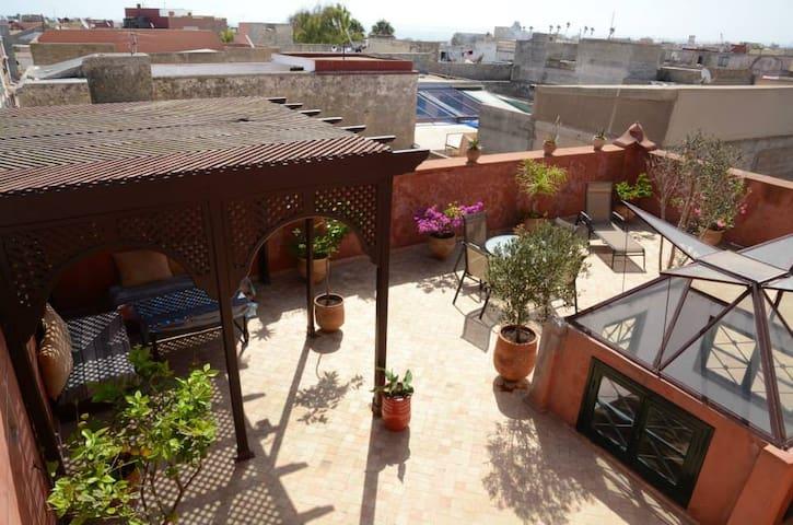 Superbe riad rénové, commerces plages et golf - El Jadida