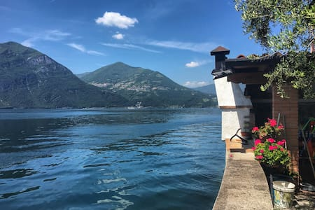 Breathtaking loft on the Lake Iseo - Lake Iseo - Wohnung