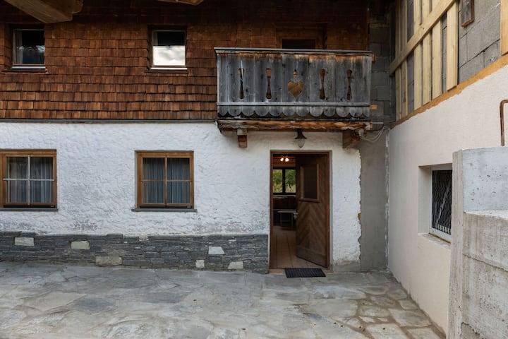 Vrijstaand vakantiehuis in Rauris met balkon