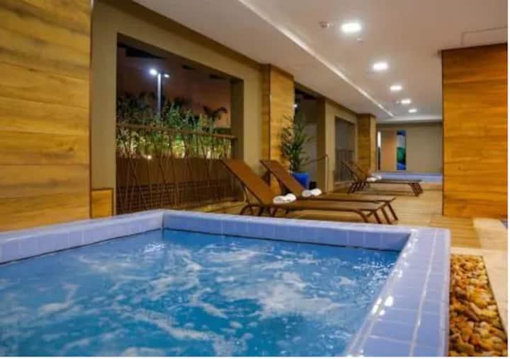 Apartamento Olímpia Park Resort 9