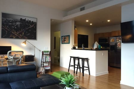 Clean & Modern 1 bdrm - California King Sized Bed - Los Angeles - Apartment
