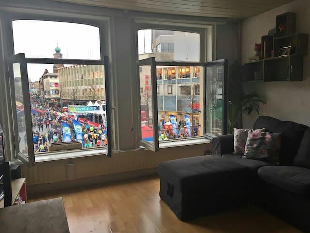 Uniek gelegen app in hartje centrum - Nijmegen