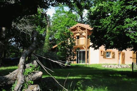 Gîte restauré dans une chesnaie de 4 hectares - Arengosse - Haus