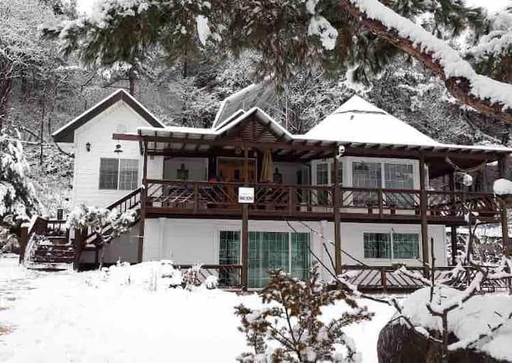 가평/청평_조용한 전원주택에서 모닥불을 피우며 운치있는 겨울을 즐겨보세요