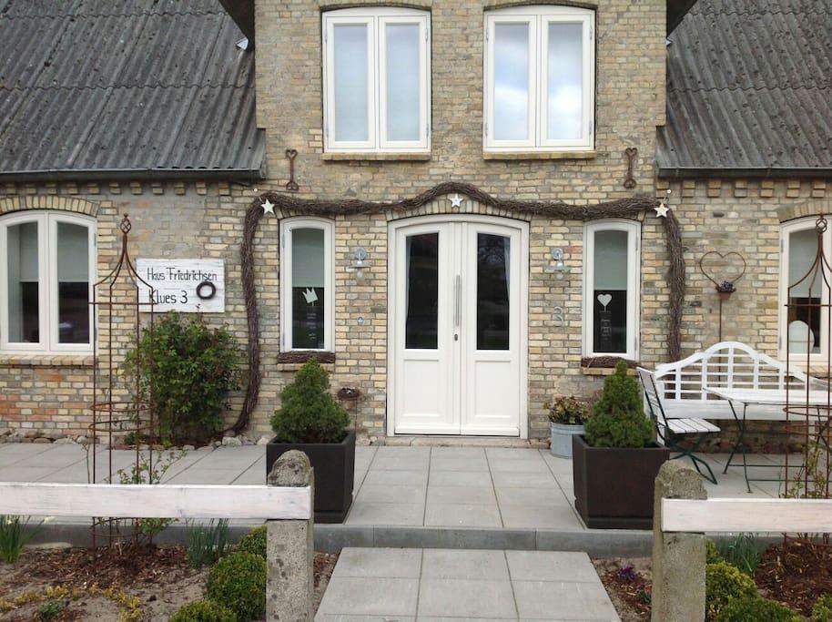 Eingang zu Haus Friedrichsen