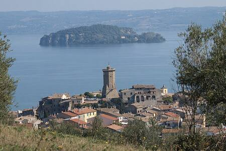 Beautiful house near the lake - Bolsena - Hus