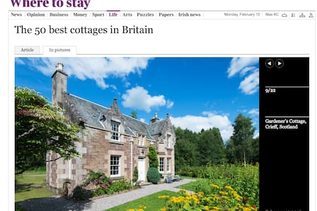 ☆Secluded, historic cottage, with castle tour