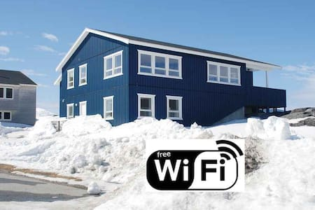Wonderful private apartment with great view - Nuuk